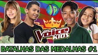 BATALHAS DAS MEDALHAS #1 THE VOICE KIDS BRASIL 2020  [ JP_PROD´S ] Giovana Aguilera, Kauê Penna .