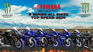 Yamaha R125 R15 R25 R3 R6 R1 R1M Top Speed 2020