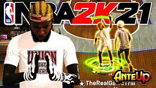 Taking Over the Stage 2v2 Court with the Best Build and Jumpshot in NBA 2K21 Current Gen