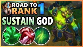 Green Infernal Shen is the Sustain GOD - Road To Rank 1 (#9)