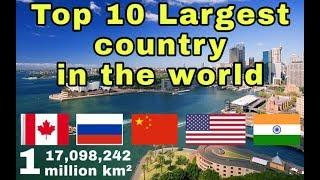 Top 10 largest Country In The world/10 Biggest Country In The World/Country Area