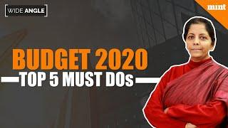 Budget 2020: Top 5 Ways to Fix the Slowdown   Mint Wide Angle