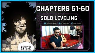 SUNG JIN WOO'S FATHER?! | SOLO LEVELING CHAPTERS 51-60 LIVE BLIND REACTION