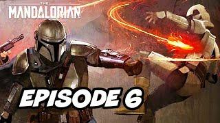 Star Wars The Mandalorian Episode 6 - TOP 10 WTF and Easter Eggs