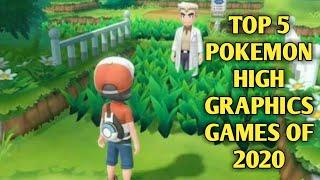 Top 5 Best Pokemon|High Graphics Games|For Android 2020 | Play store | for 1gb ram devices