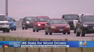 Colorado Among Top 10 States With 'Worst Drivers,' Study Finds