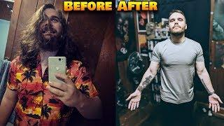 How I went from fat & depressed to an ALPHA MALE: 40+ lbs. weight loss.