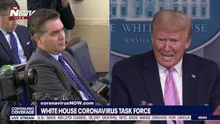 """""""NO, JIM, JUST THE OPPOSITE OF YOUR QUESTION"""": Trump to Acosta regarding resources"""