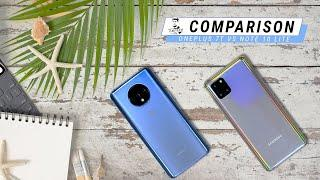 Samsung Galaxy Note 10 Lite vs OnePlus 7T Comparison - What's Best For You?