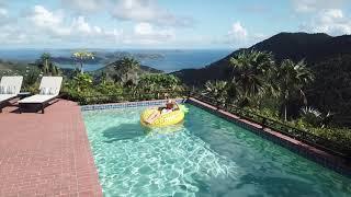 Mystic Ridge the Top 10 Million Dollars Proprety in US Virgin Islands.