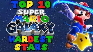 Super Mario Galaxy: TOP 10 Hardest Stars from Super Mario Galaxy!