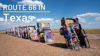 Route 66 Road Trip Stops in Texas