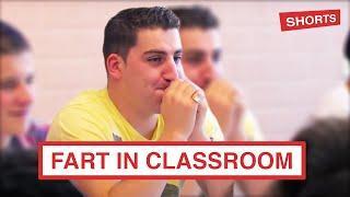 TEACHER FARTS IN CLASSROOM #shorts