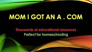 MomIGotAnA.com - Educational resources for parents and teachers