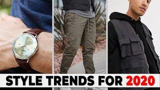 7 BEST Style Trends for 2020 | Men's Fashion Trends | Alex Costa