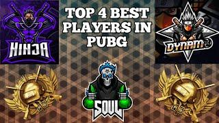 Who Is No. 1 Player In Pubg Mobile??? Top 4 Pro Players In Pubg Mobile