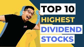 TOP 10 Highest Dividend Stocks in 2020 | BLUE CHIP STOCKS BURSA MALAYSIA| How to Invest in Stocks