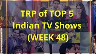 TRP Report: Look at the list of Top 5 Shows of week 48