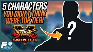 5 Characters who MIGHT be Top Tier in SFV Champion Edition! Street Fighter V
