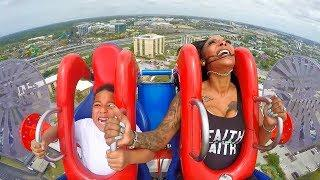 They both fell off roller coaster..