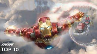 Top 10 Iron Man Fights | SuperSuper