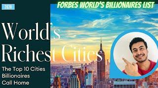 Top 10 Cities With Most Number of Billionaires 2020 | World Billionaires Call it Home