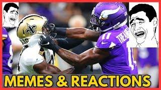 Vikings vs Saints NFL Playoffs 2020 (MEMES & Reactions) of post game analysis & full game highlights