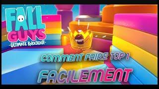 Fall Guys - TUTO : COMMENT FAIRE TOP 1 FACILEMENT [Astuces & Conseils]