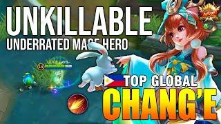 UNDERRATED MAGE CHANG'E BUILD - TOP GLOBAL CHANGE --xlr8-- - MOBILE LEGENDS