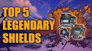Borderlands 3 Top 5 Legendary Shields | Best Legendary Shields for End Game Builds