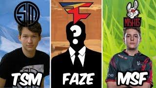 Ranking The Best Fortnite Players From Each Team!