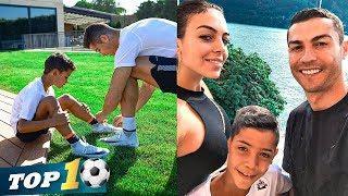 Cristiano Ronaldo plays withs son CR7 JR | Weekend Ronaldo Family Activity