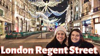 London Christmas Lights 2020 | Walking Regent Street,Piccadilly Circus to Oxford Street