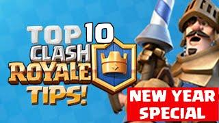 Clash royale - Top 10 Pro Tips and Tricks to improve your game | How to Improve in chalsh royale |