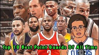 Top 10 Point Guards In NBA History!