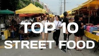 TOP 10 STREET FOOD YOU MUST EAT AT TAMAN CONNAUGHT NIGHT MARKET | Malaysian Street Food