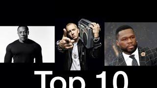 Top 10 best rappers in the world!