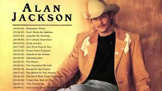 Best Alan Jackson Songs - Best Old Country Songs Of All Time - Classic Country Music Collection
