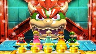 Mario Party The Top 100 MiniGames - Mario Vs Peach Vs Rosalina Vs Daisy (Very Hard Cpu)
