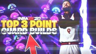 TOP 3 POINT GUARD BUILDS AFTER *PATCH 14* IN NBA 2K20! *LAST* MOST OVERPOWERED POINT GUARD BUILDS!