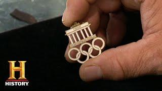 Pawn Stars: GAMBLING ON A HISTORIC OLYMPIC PIN (Season 12) | History