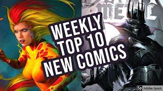 TOP 10 NEW KEY COMICS TO BUY FOR JULY 15TH 2020 - NEW COMIC BOOKS REVIEWS THIS WEEK - MARVEL / DC