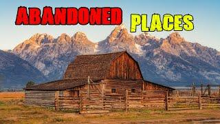 Top 10 Abandoned Places in the United States. Part 2  (Cheap real  estate)