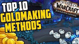 Top 10 Goldmaking Methods in Shadowlands