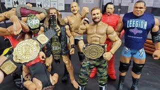 GIVEAWAY CUSTOM WWE INTERCONTINENTAL TITLE BELT + EPIC CUSTOM FIGURE HAUL