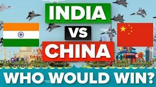 INDIA vs CHINA military power comparison 2020.