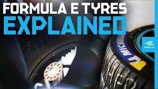 How Formula E Tyres Work   Formula E Explained