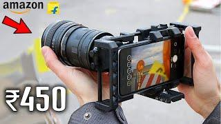 12 MOBILE PHOTOGRAPHY GADGETS | ACCESSORIES ON AMAZON | COOL UNIQUE GADGETS UNDER Rs500 & Rs1000