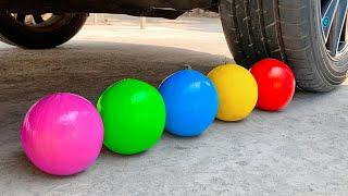 Top 10 Crushing Crunchy & Soft Things by Car! Experiment: Car vs Rainbow Color Watermelon