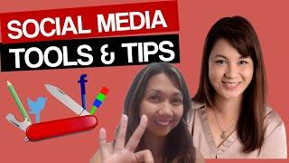 Social Media Management Tools for Beginners 2020 | A Video Interview with Donna Araneta